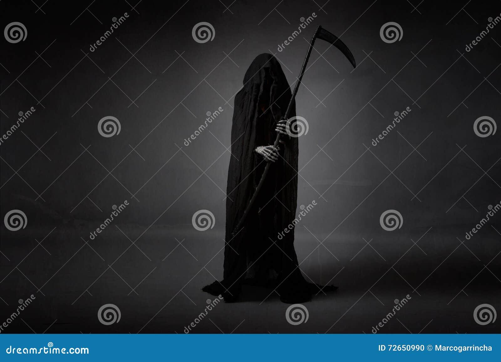 Tod mit Sichel