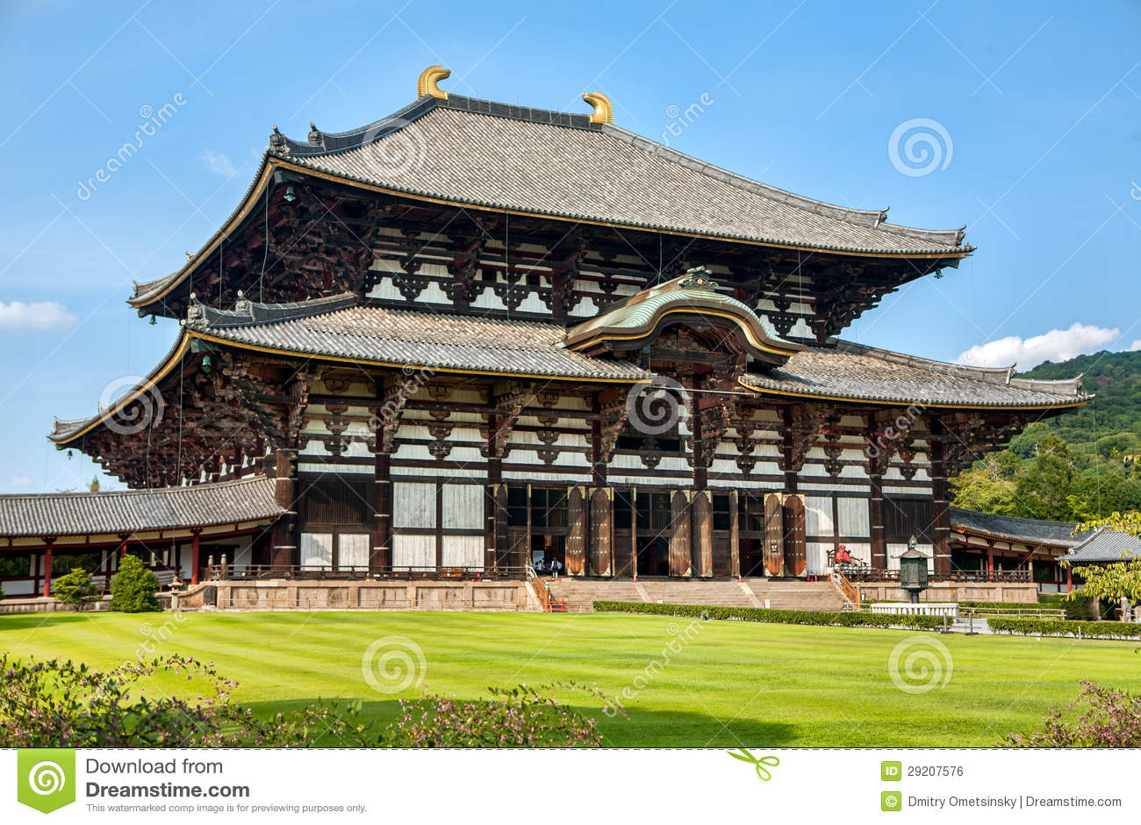 Todaiji Temple In Nara Royalty Free Stock Image - Image: 29207576