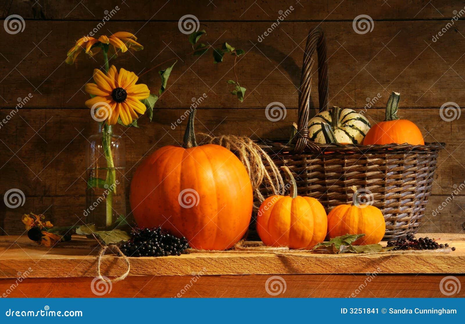 Todavía del otoño vida
