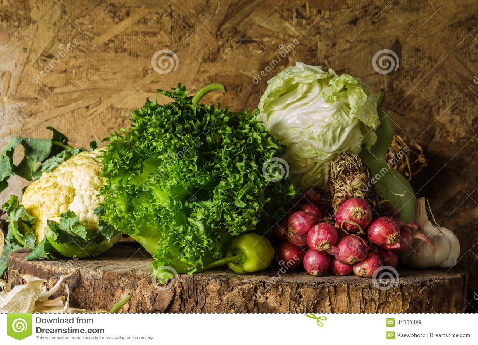 Todavía verduras, hierbas y fruta de la vida