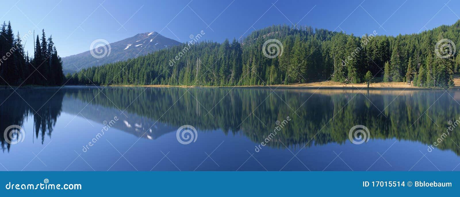 Todd Lake and Mount Bachelor