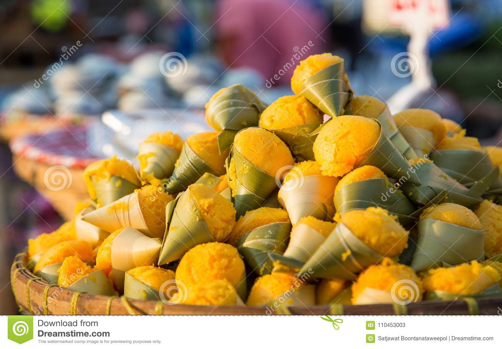 Toddy Palm Cake Kanom Tarn