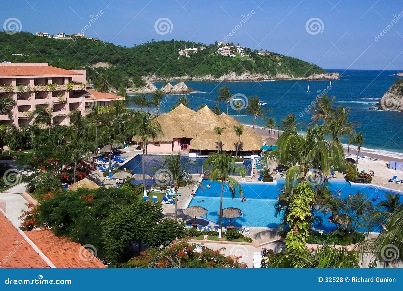 Download Todo El Hotel-México Inclusivo Foto de archivo - Imagen de natación, todos: 32528