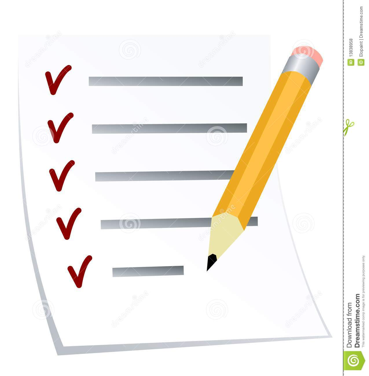 Todo List Royalty Free Stock Photos Image 13838958