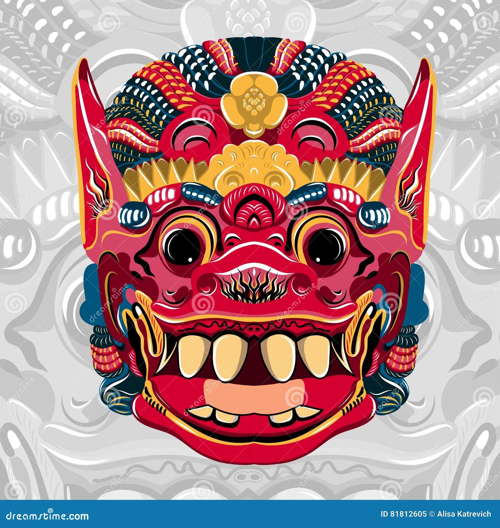 Todsakan смотрит на которое король демона в тайском Khon вектор