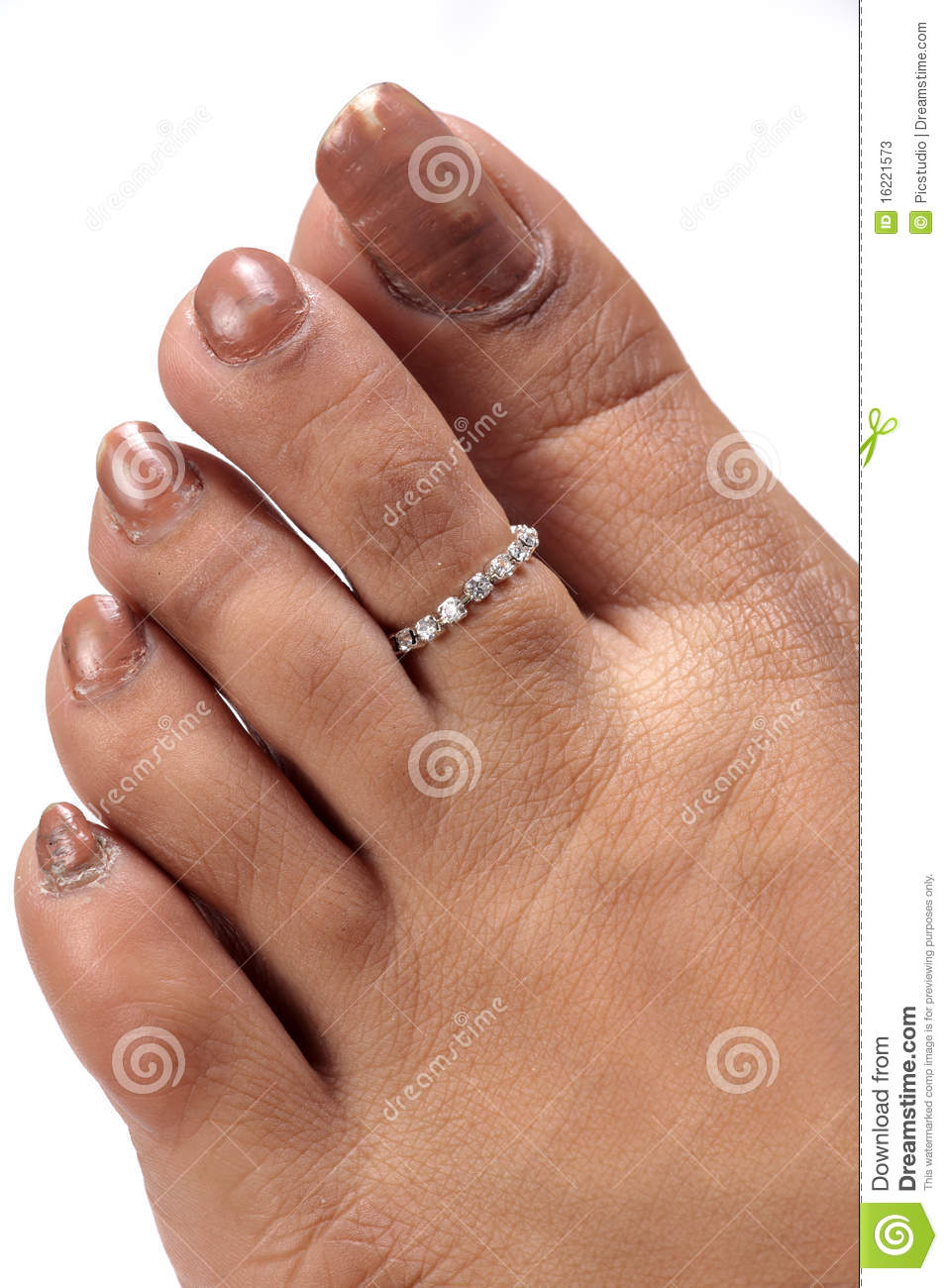 Expensive Toe Ring