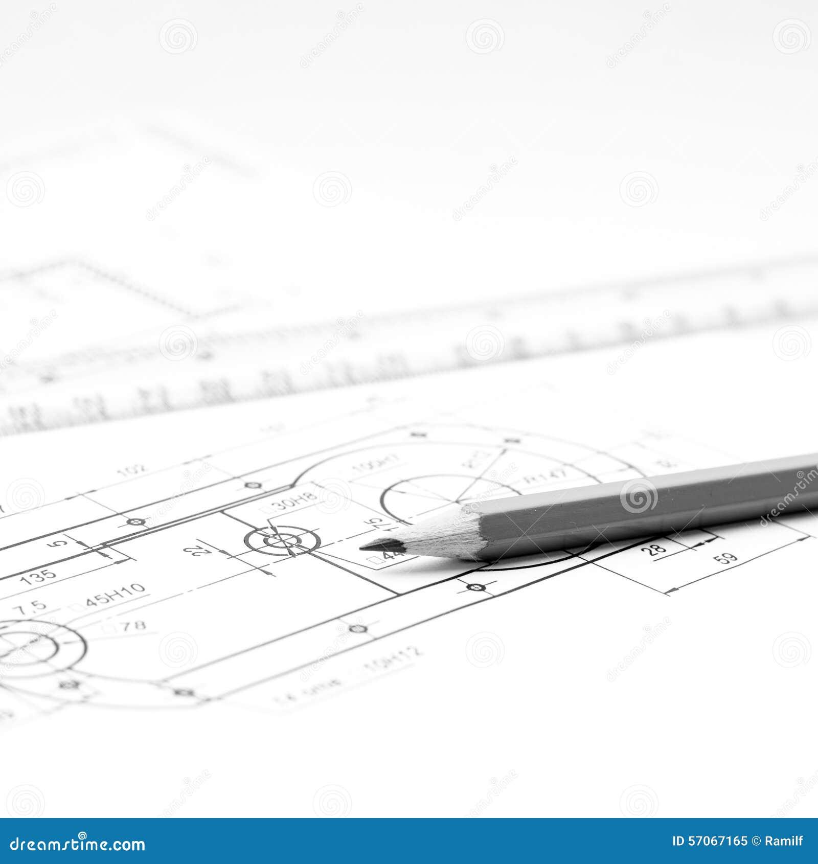 Toebehoren voor tekening