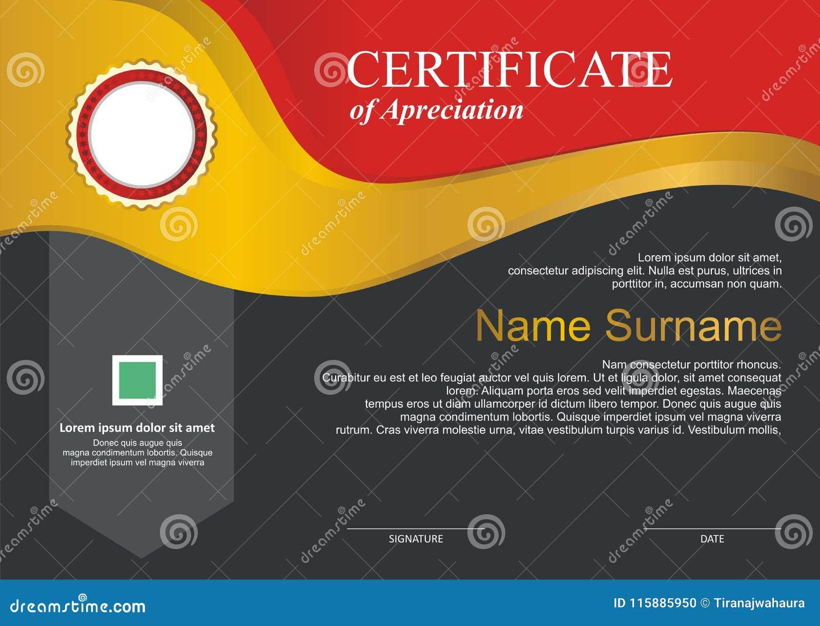 Toekenning - Diplomamalplaatje met modern ontwerp