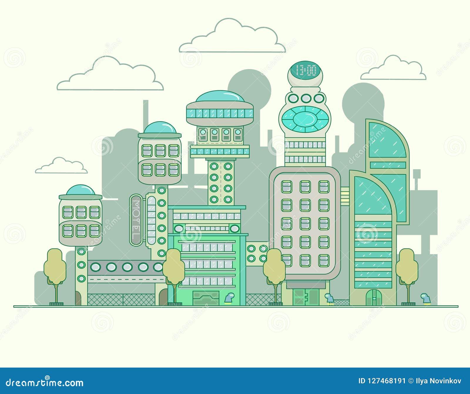 Toekomstige stad