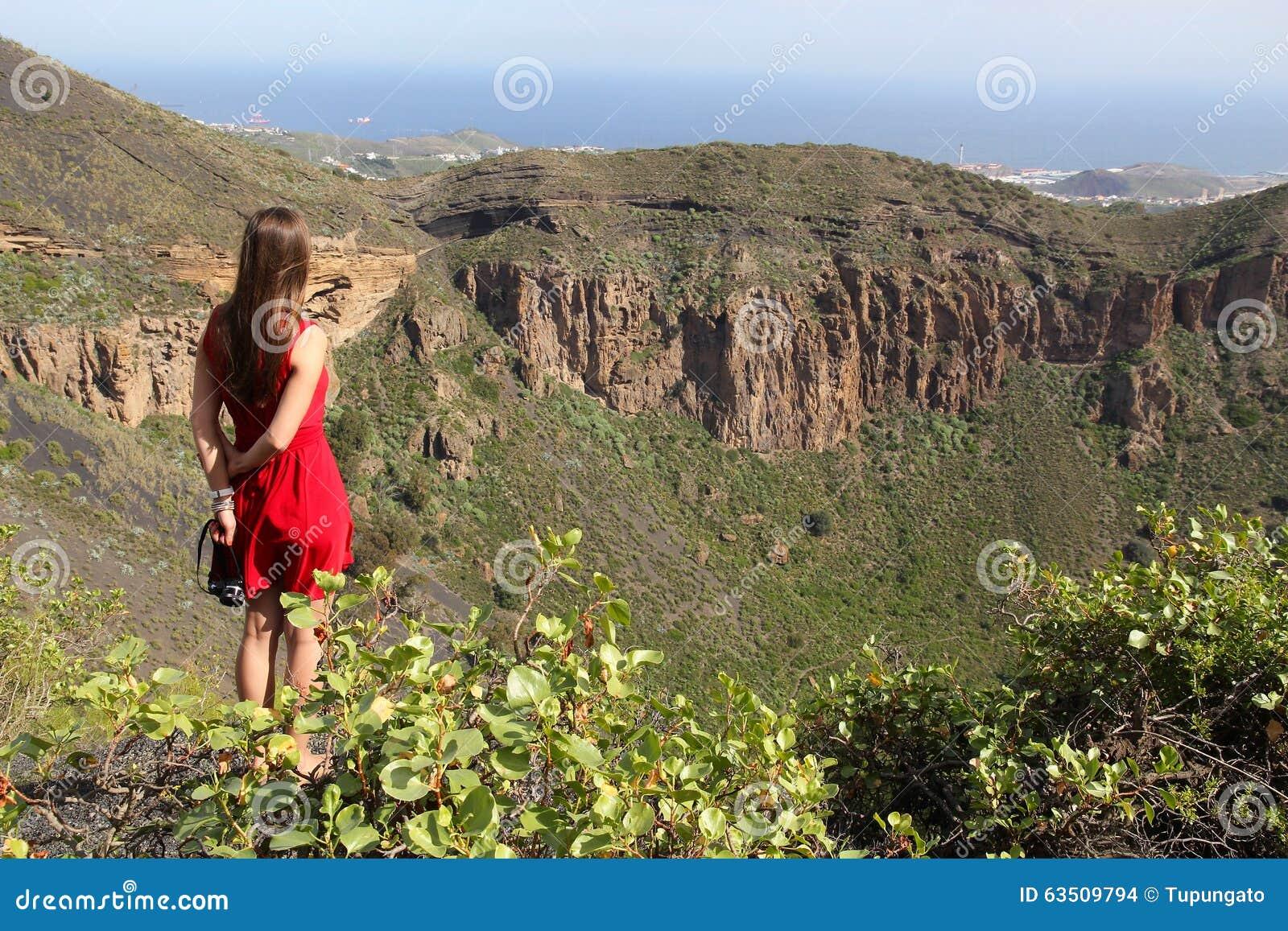 Toerist in Gran Canaria