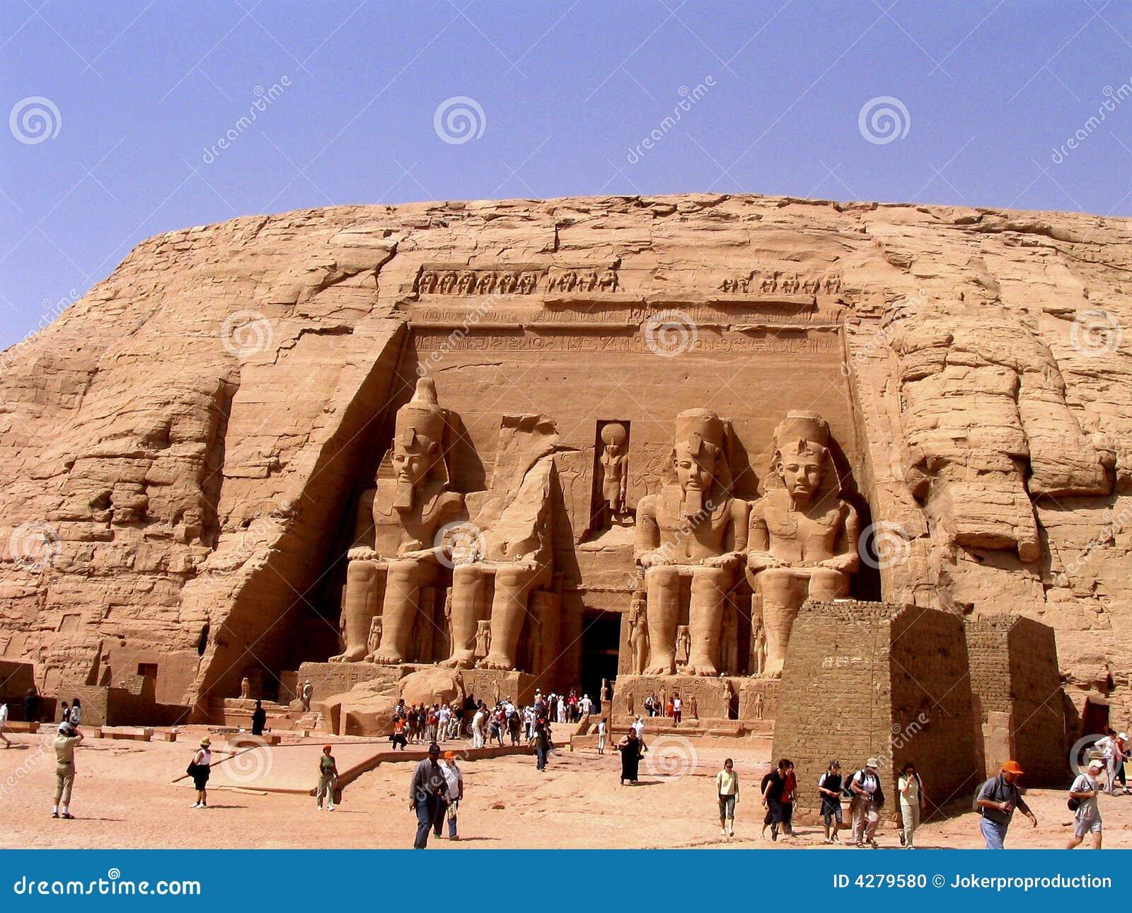 Toeristen in Egypte