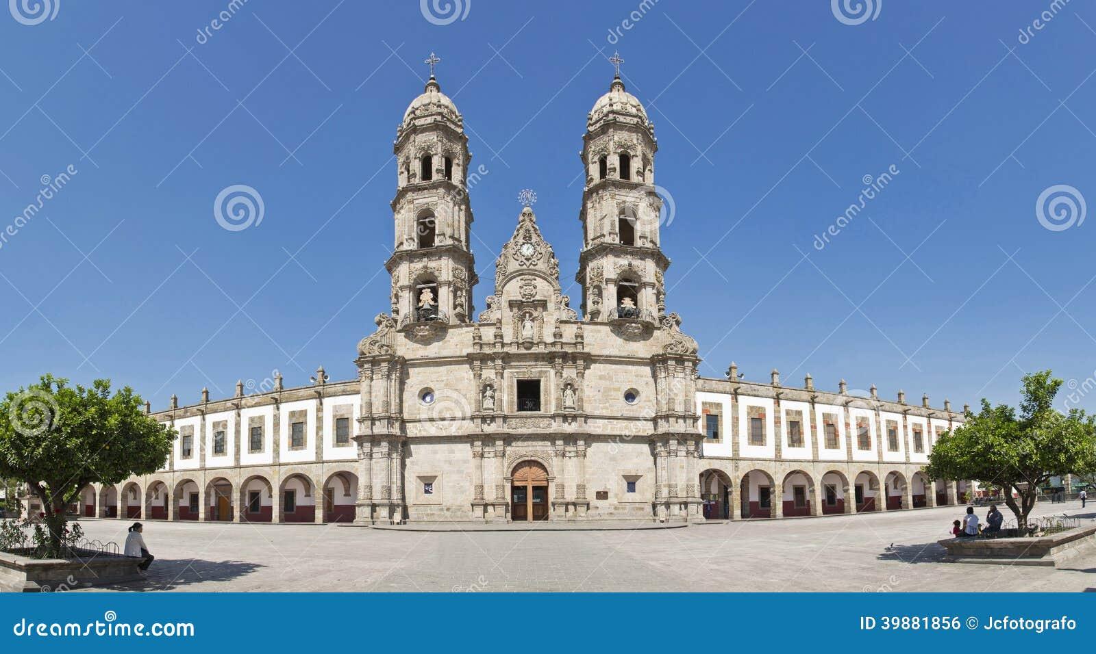 Toeristenmonumenten van de stad van Guadalajara