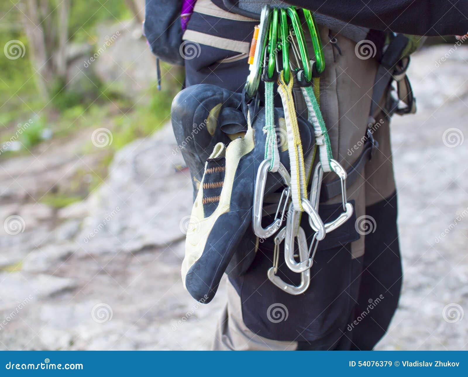 Toestel voor het beklimmen in de bergen