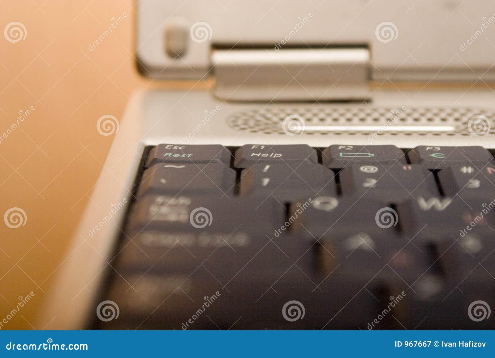Toetsenbord met de scherpe knoop