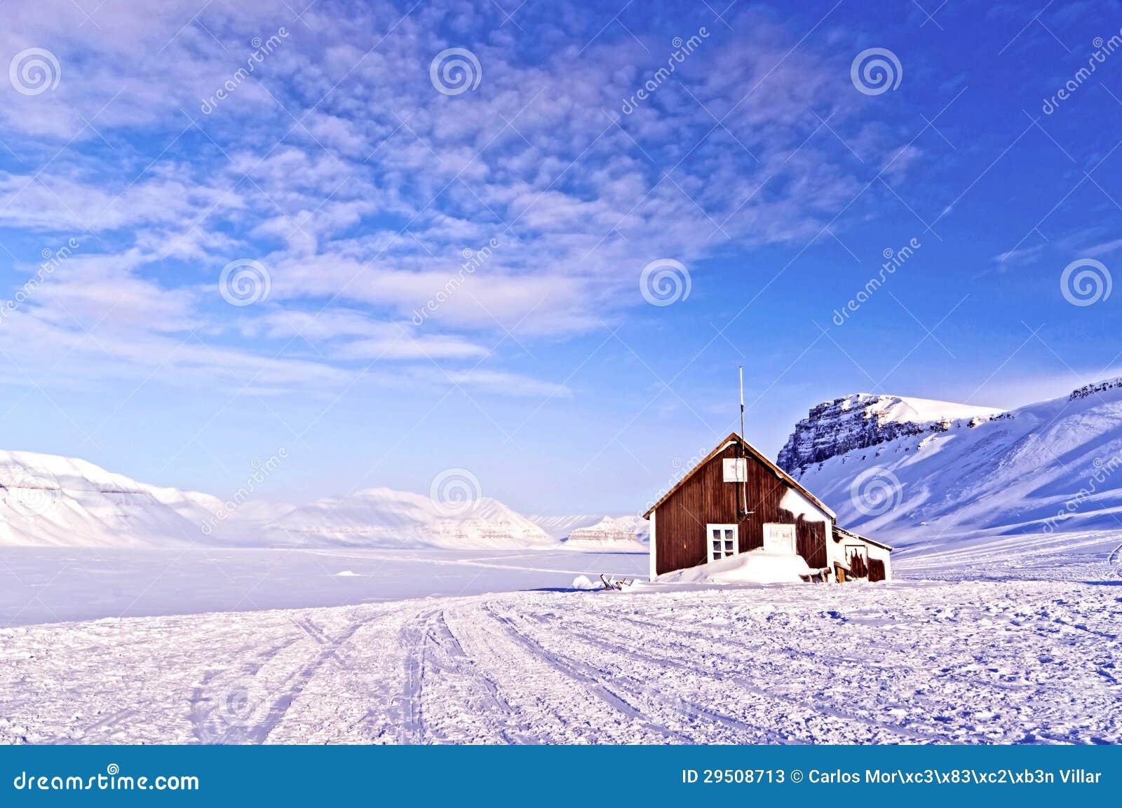 Toevluchtsoord in het Noordpoolgebied