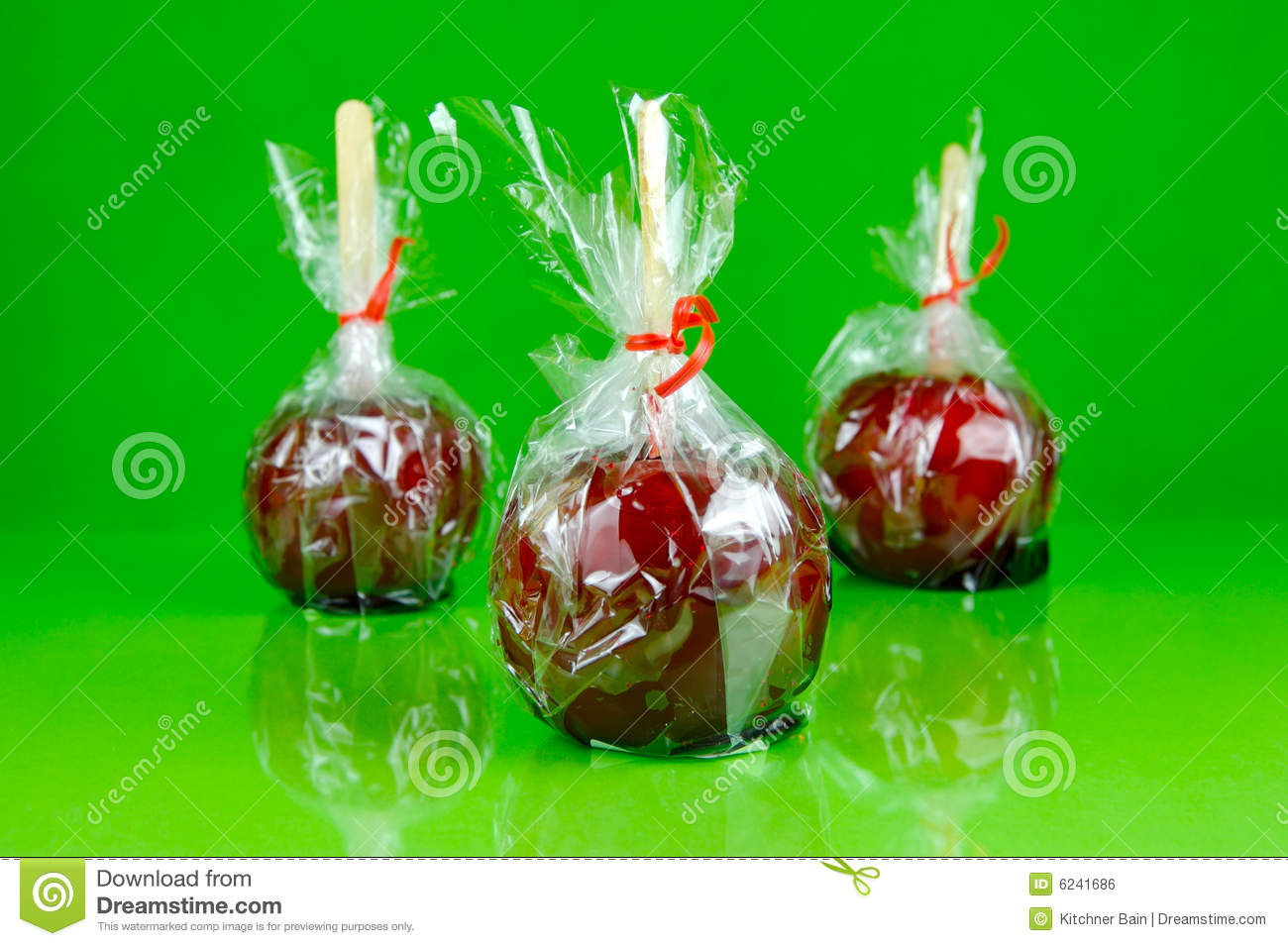 how to make green toffee apples