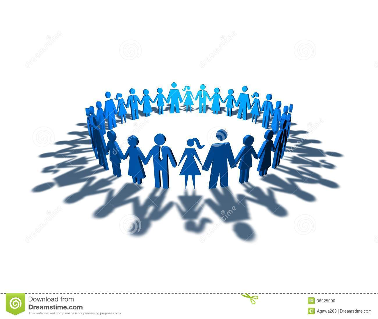 togetherness abstract idea stock illustration clip art group of people working clip art group of people in circle
