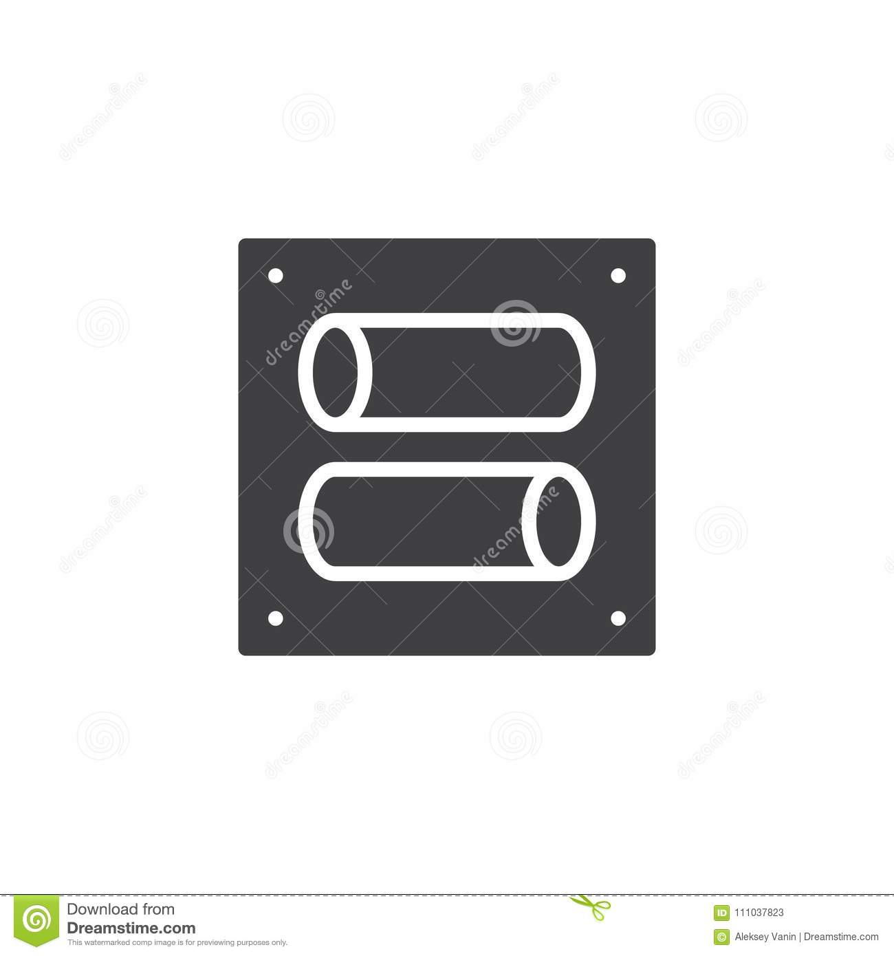 Toggle switches sliders outline icon vertex vhf radio vector icon stock vector illustration of pictogram toggle switch vector icon filled flat sign mobile concept web design tumbler simple solid symbol logo biocorpaavc Images
