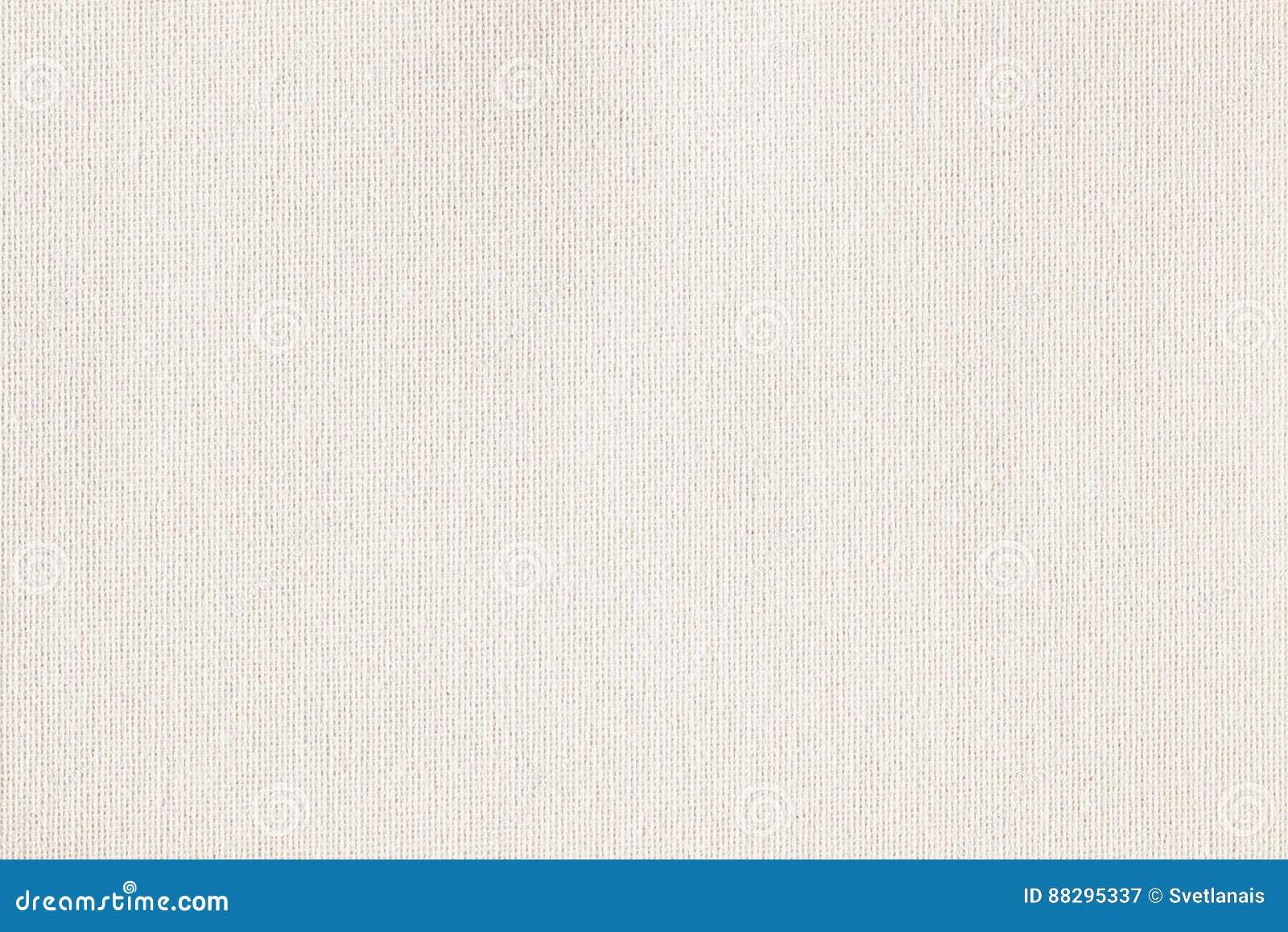 Toile à sac, toile, tissu, jute, modèle de texture pour le fond Couleur douce crème Petite diagonale