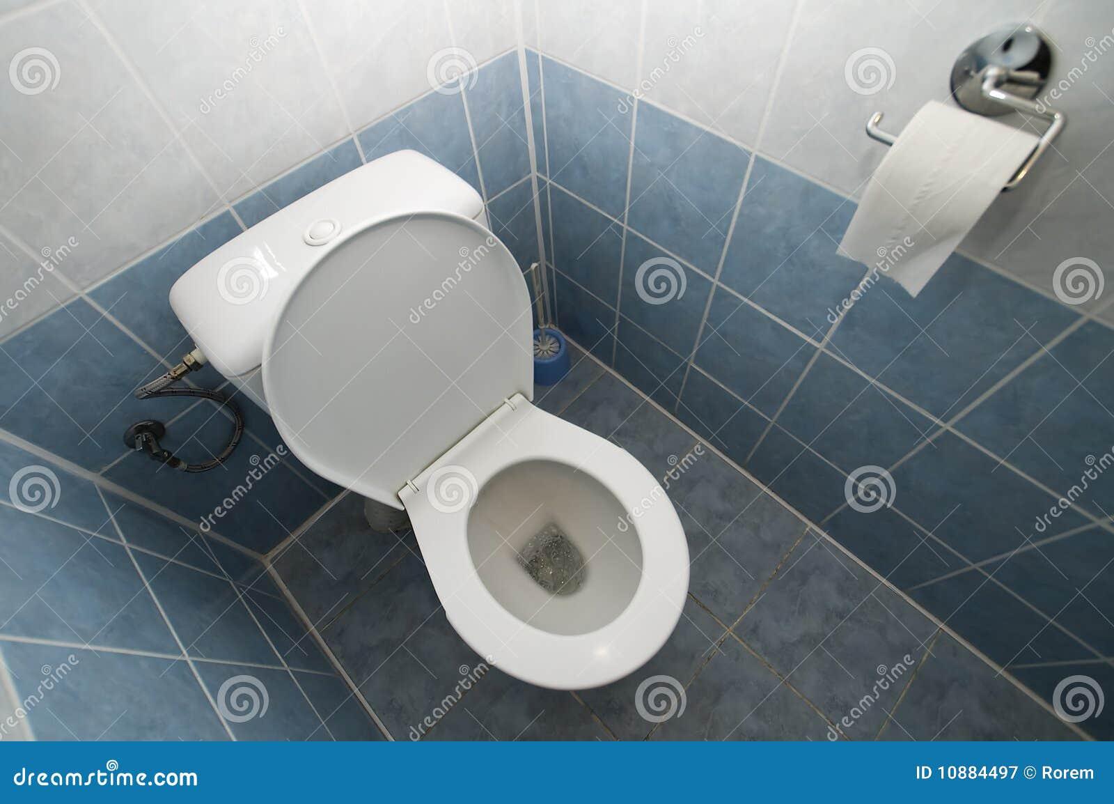 Toilet stock afbeelding. afbeelding bestaande uit latrine 10884497