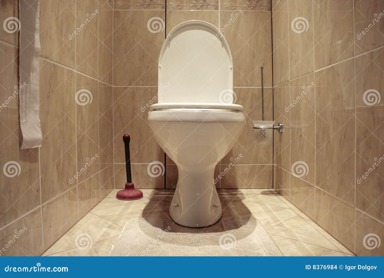 Toilet stock foto afbeelding bestaande uit hygi ne halsband 8376984 - Decoratie toilet ontwerp ...