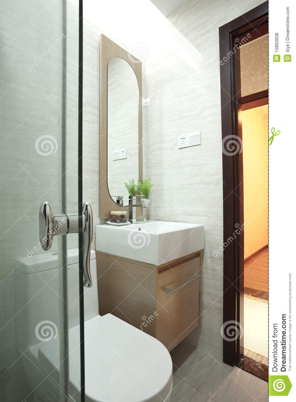 Toilet With Bathroom Royalty Free Stock Photos Image 15893608