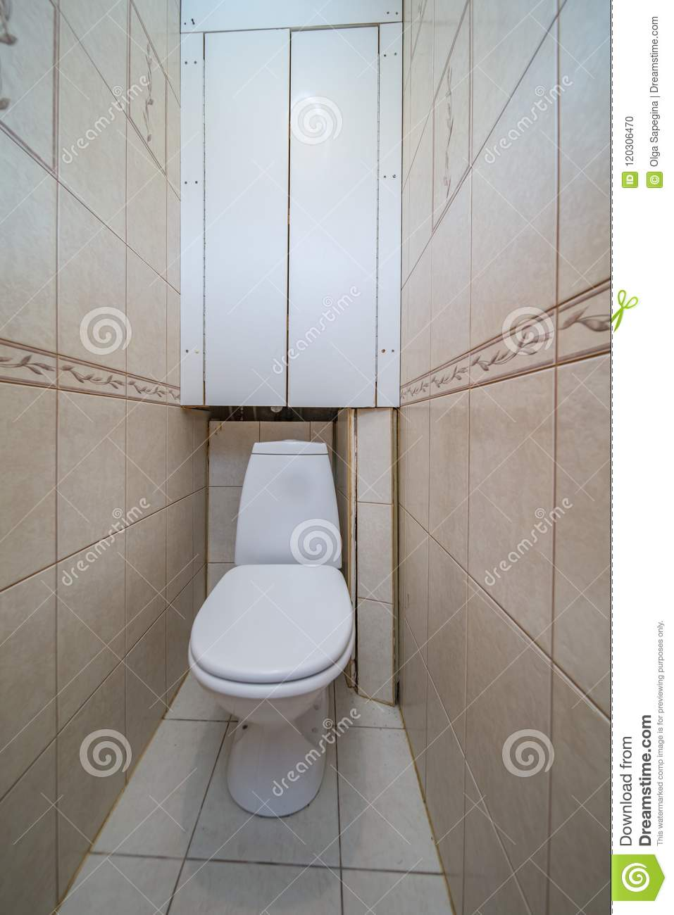 Restroom with toilet
