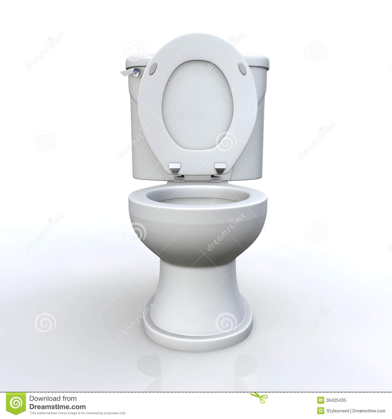 Toilet And Cistern Royalty Free Stock Photo Image 30425435