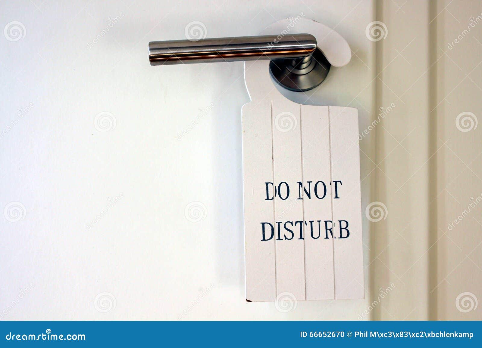 Toilet/restroom Door With Decorative Wooden Do Not Disturb ...