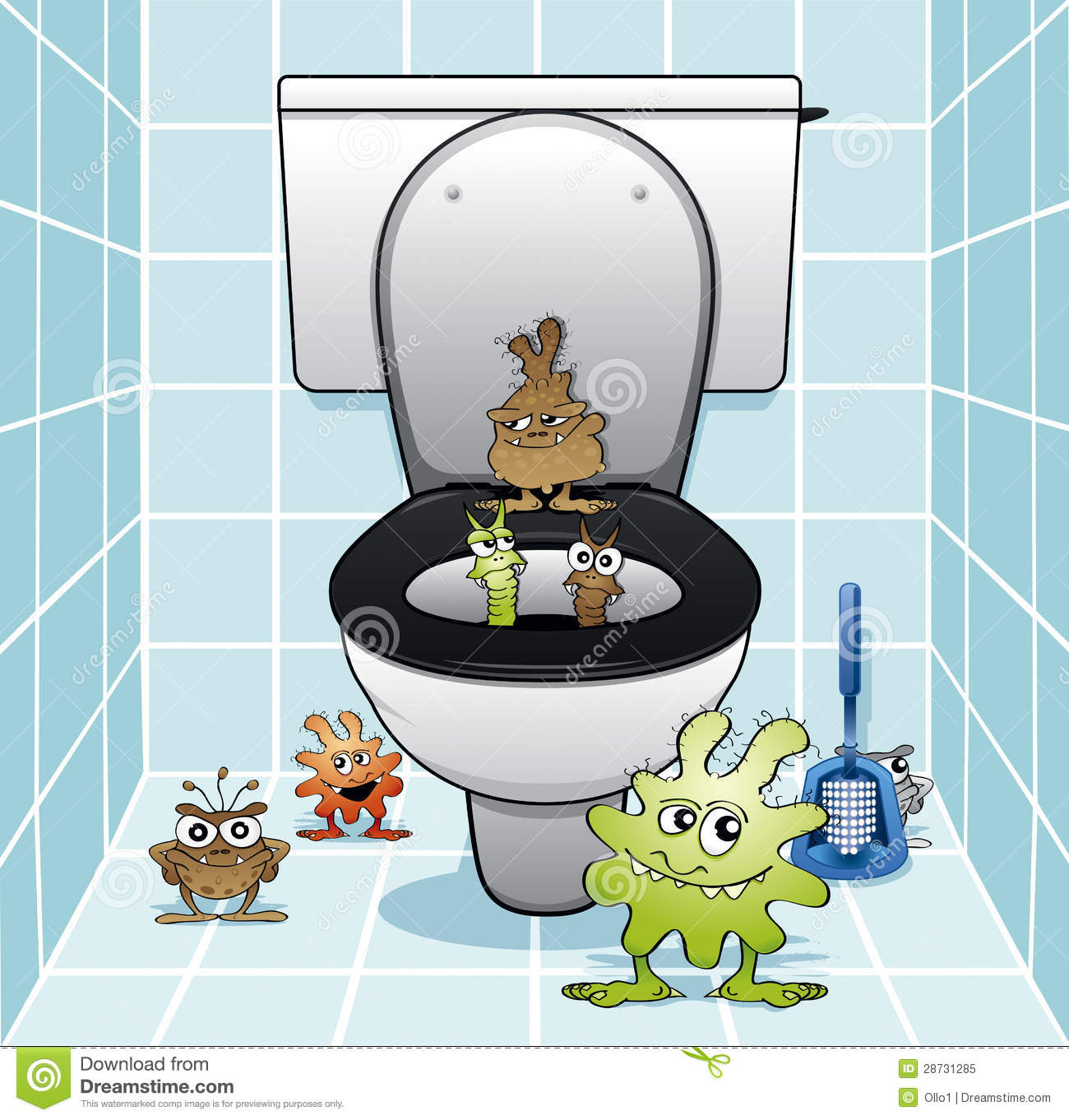 The Toilet Gang Royalty Free Stock Photo Image 28731285