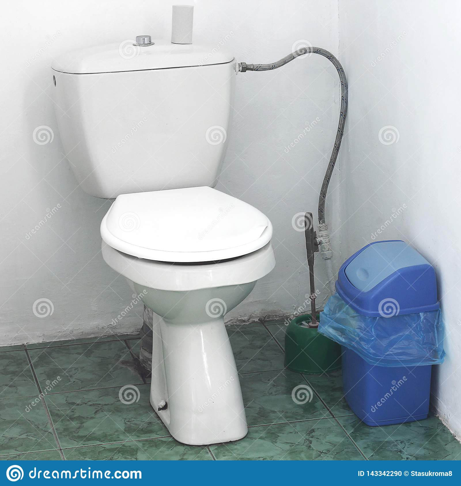 Toilet in the house. Restroom