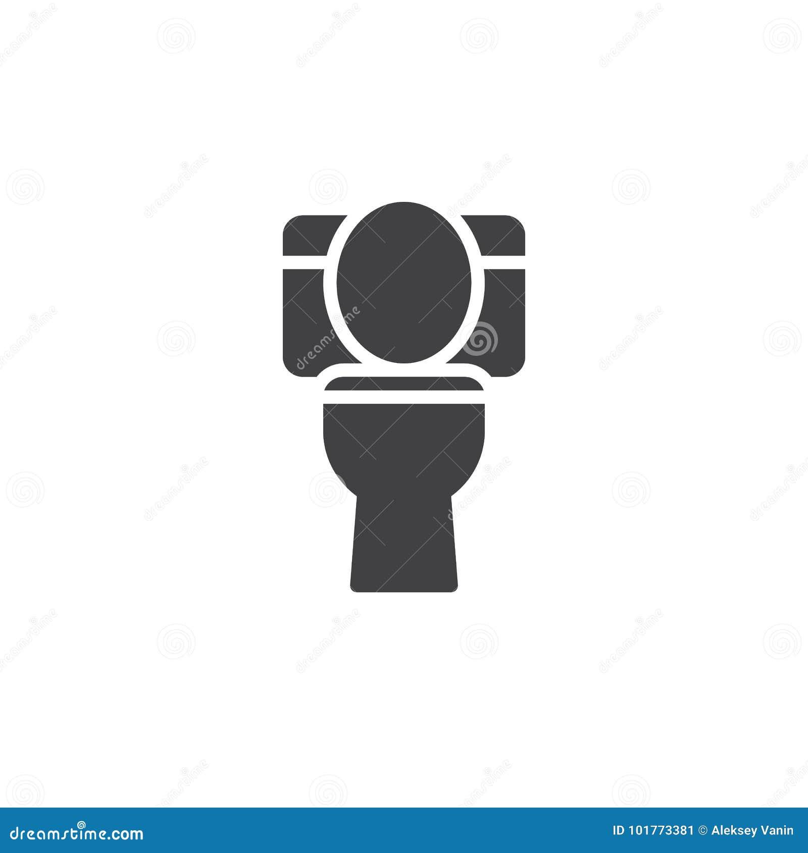 Toilet Icon Vector Stock Vector Illustration Of Interior 101773381