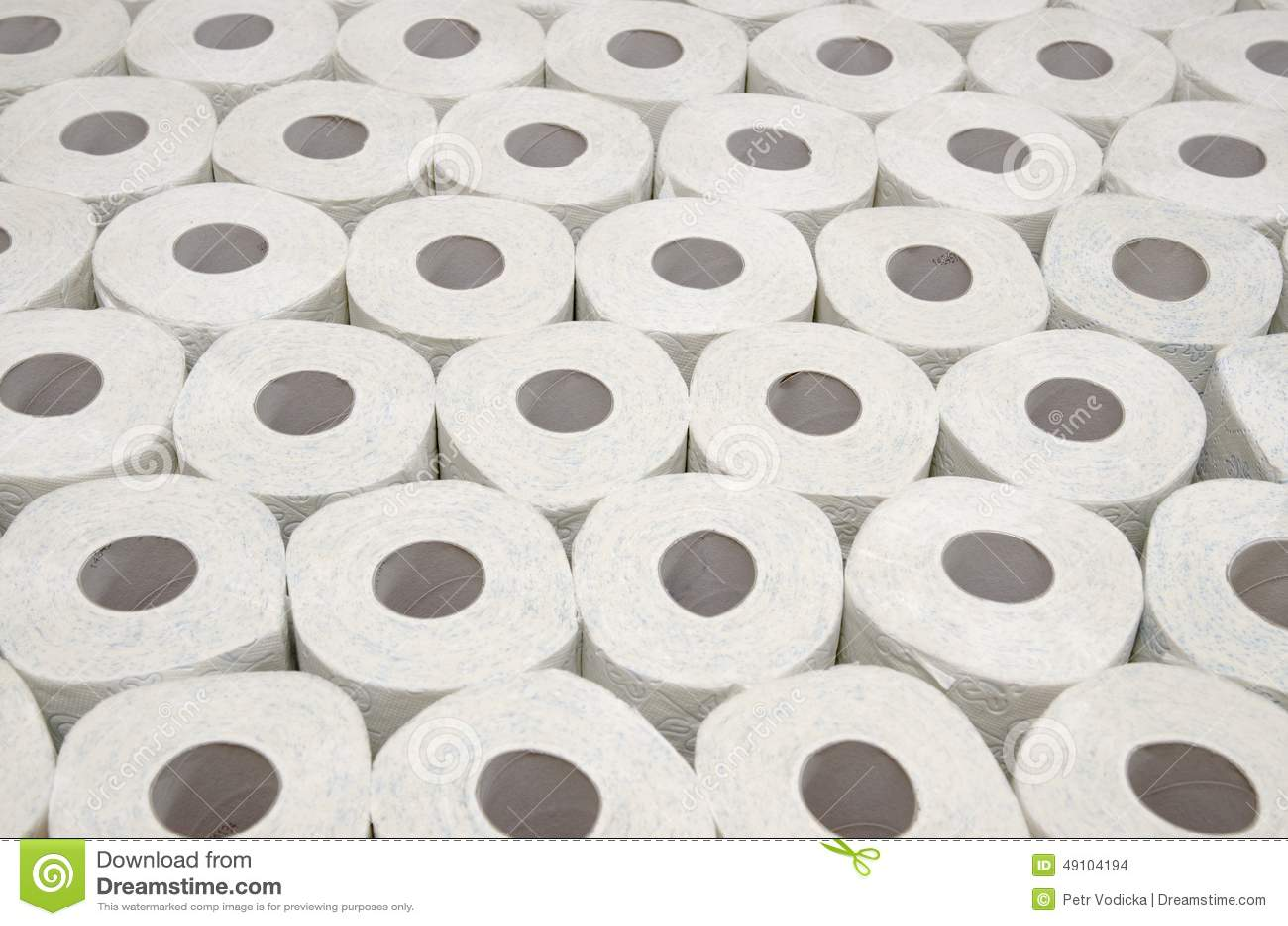 Toilet Paper Stock Photo Image 49104194