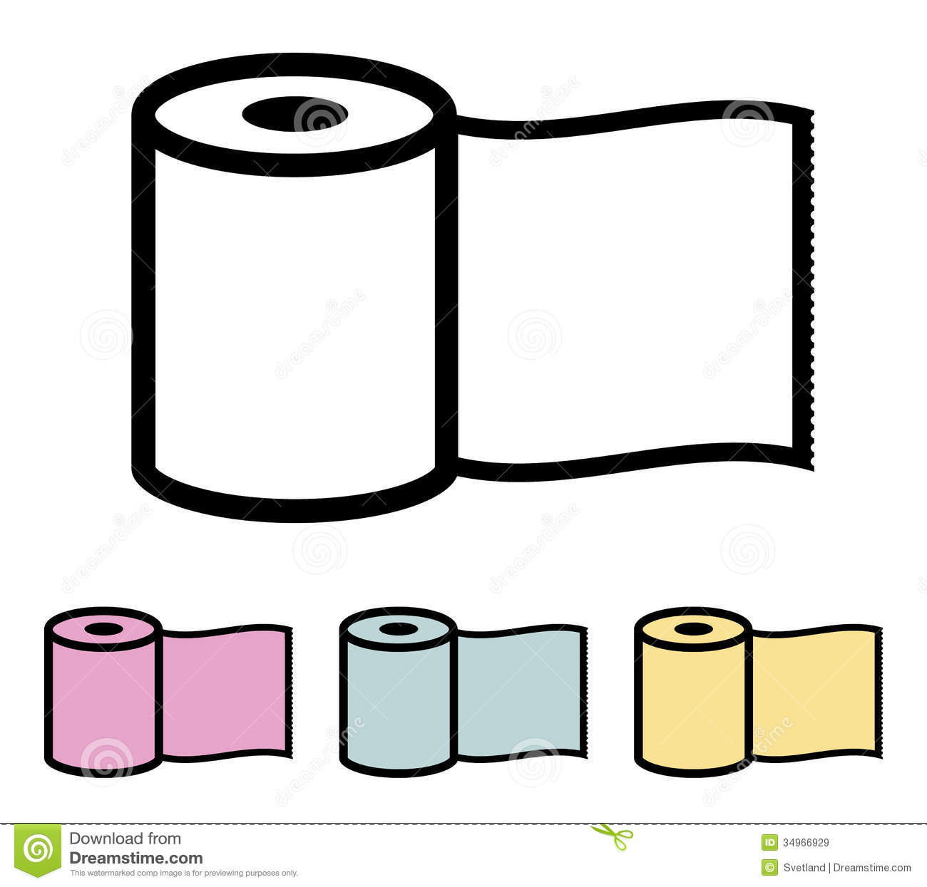 Toilet Paper Roll Royalty Free Stock Images   Image  34966929. Toilet Paper Vector