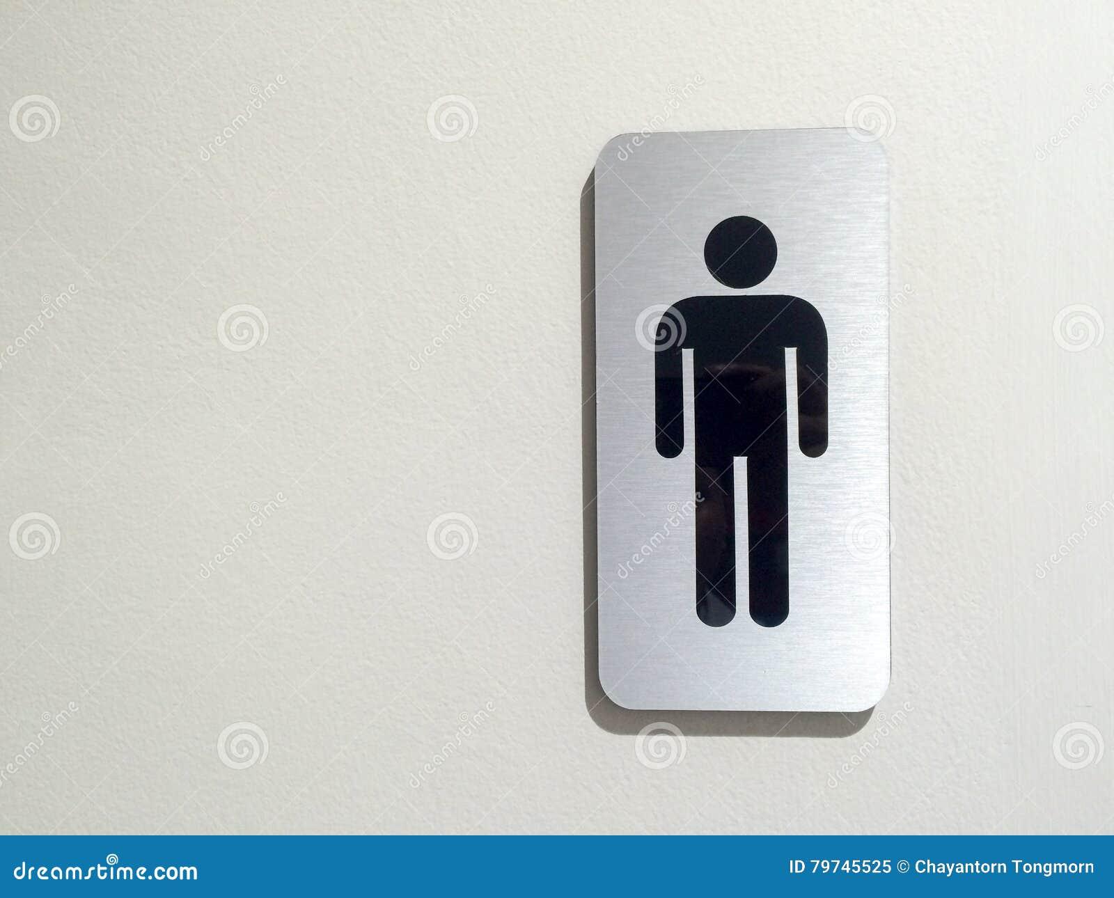 Toilet X28 Restroom X29 Simbolo Degli Uomini Al Deposito Dell