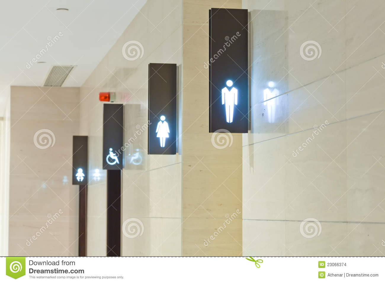 Toilet Sign Stock Photo Image Of Icon Direction Symbol