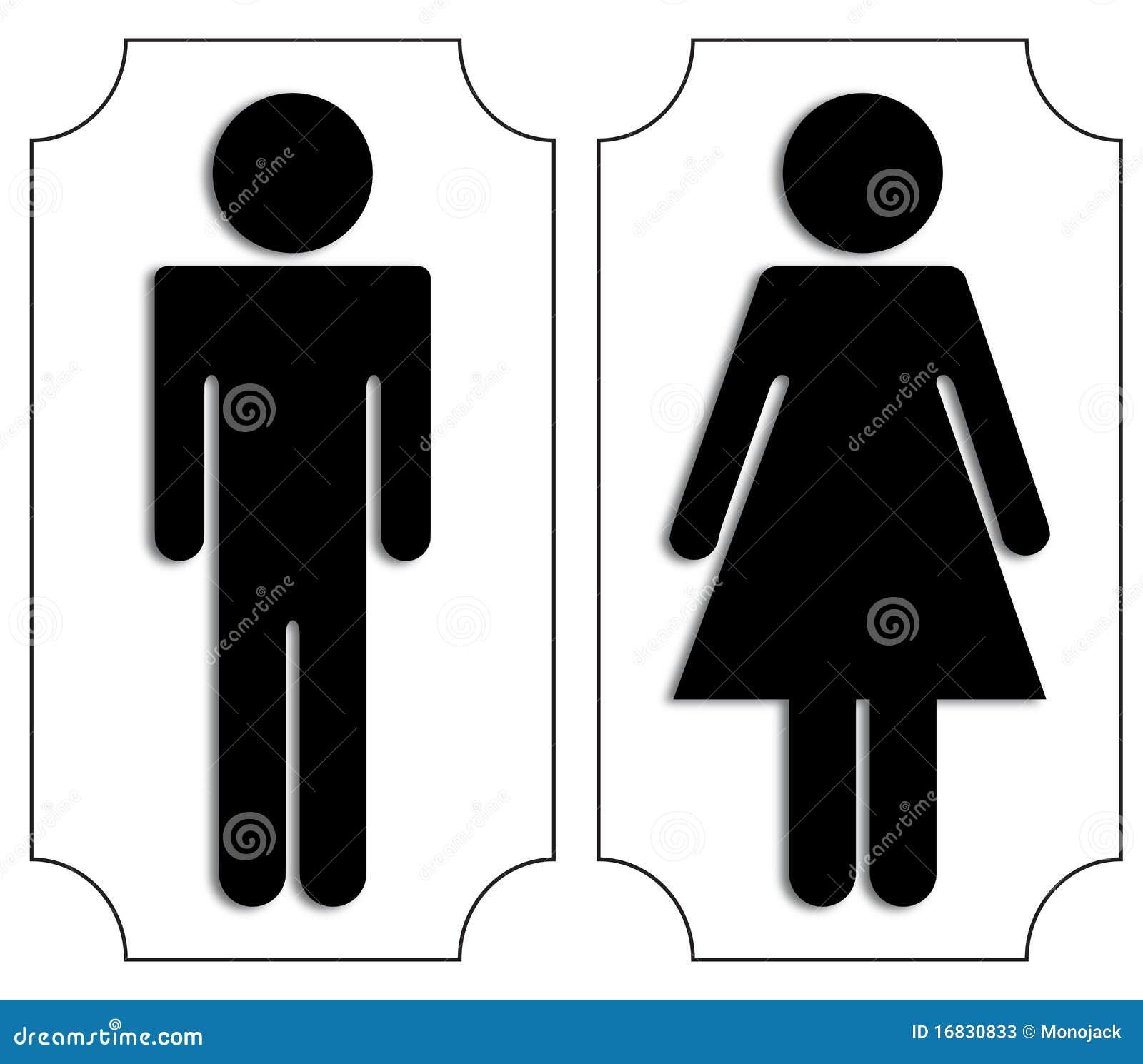 Toilet Signs Stock Photos - Image: 16830833