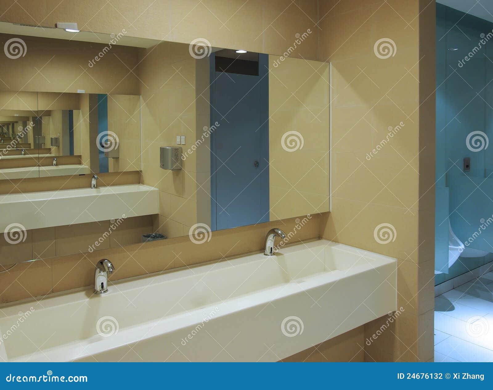 Toilet Sinks Mirror Stock Photo Image Of Clean White