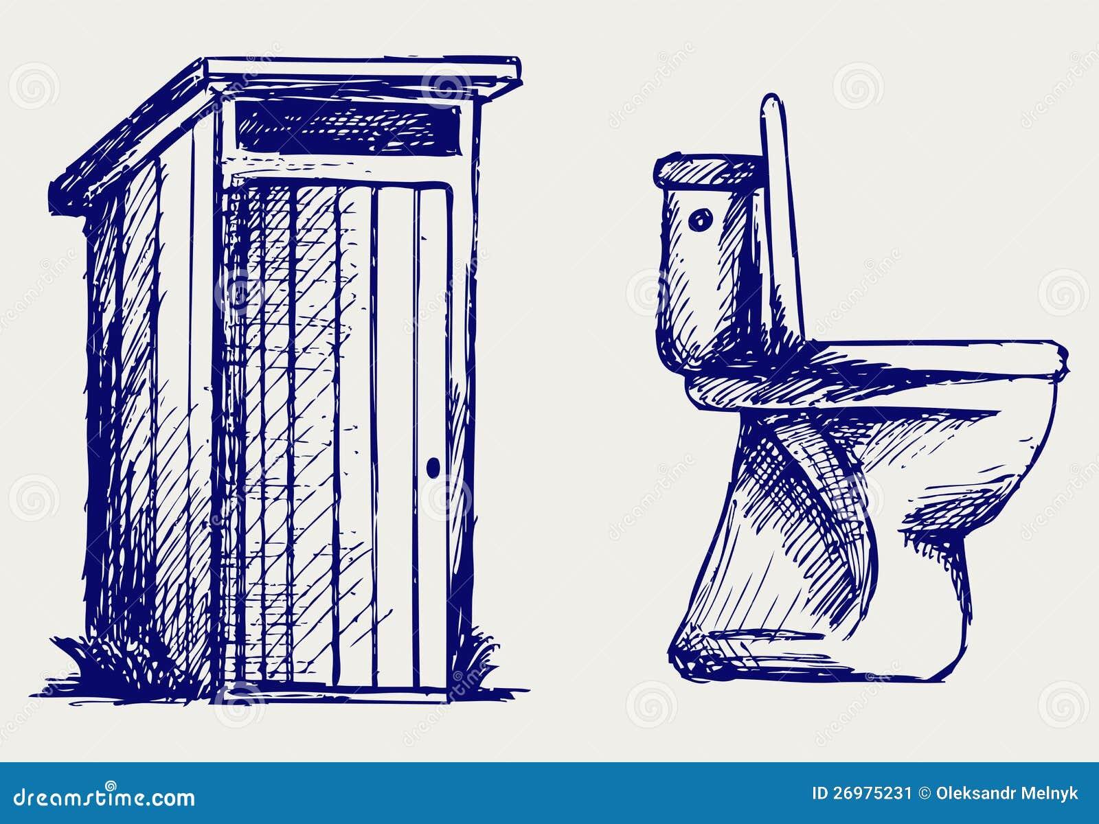 Toilet Sketch Stock Image Image 26975231