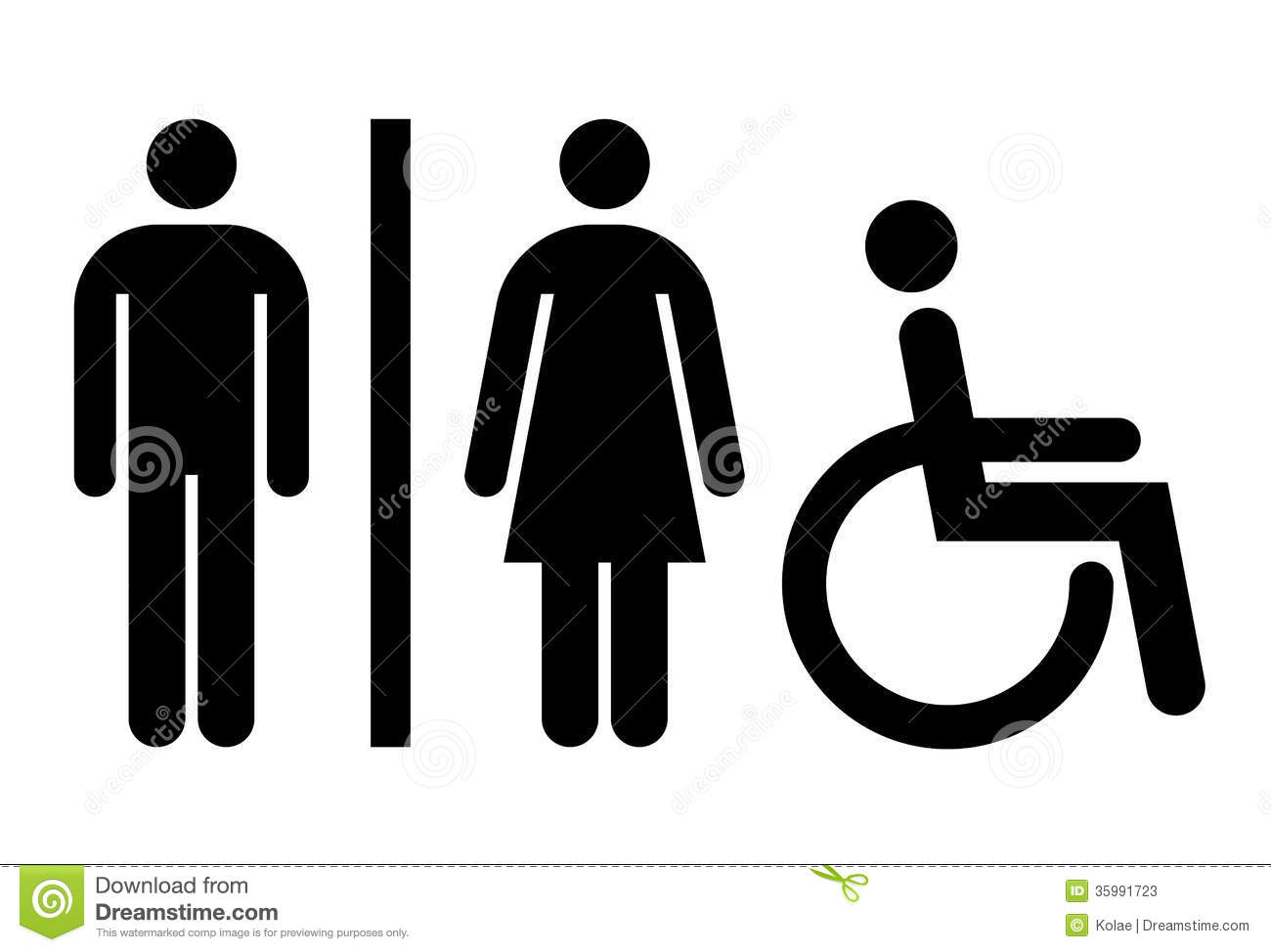 Toilet Wc Restroom Sign Stock Photos Image 35991723