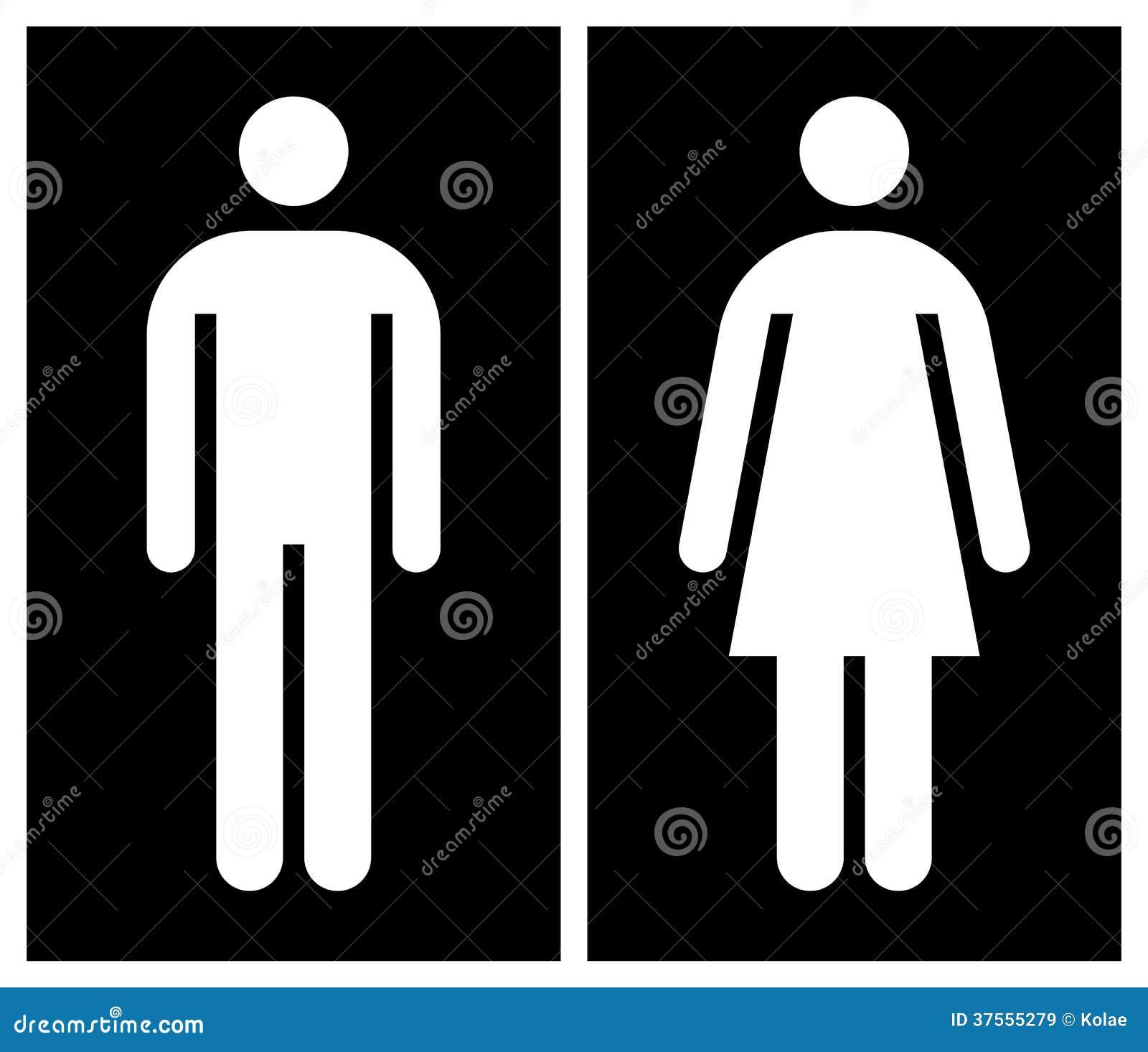 Toilet wc toiletteken royalty vrije stock afbeeldingen afbeelding 37555279 - Wc zwart wit ...