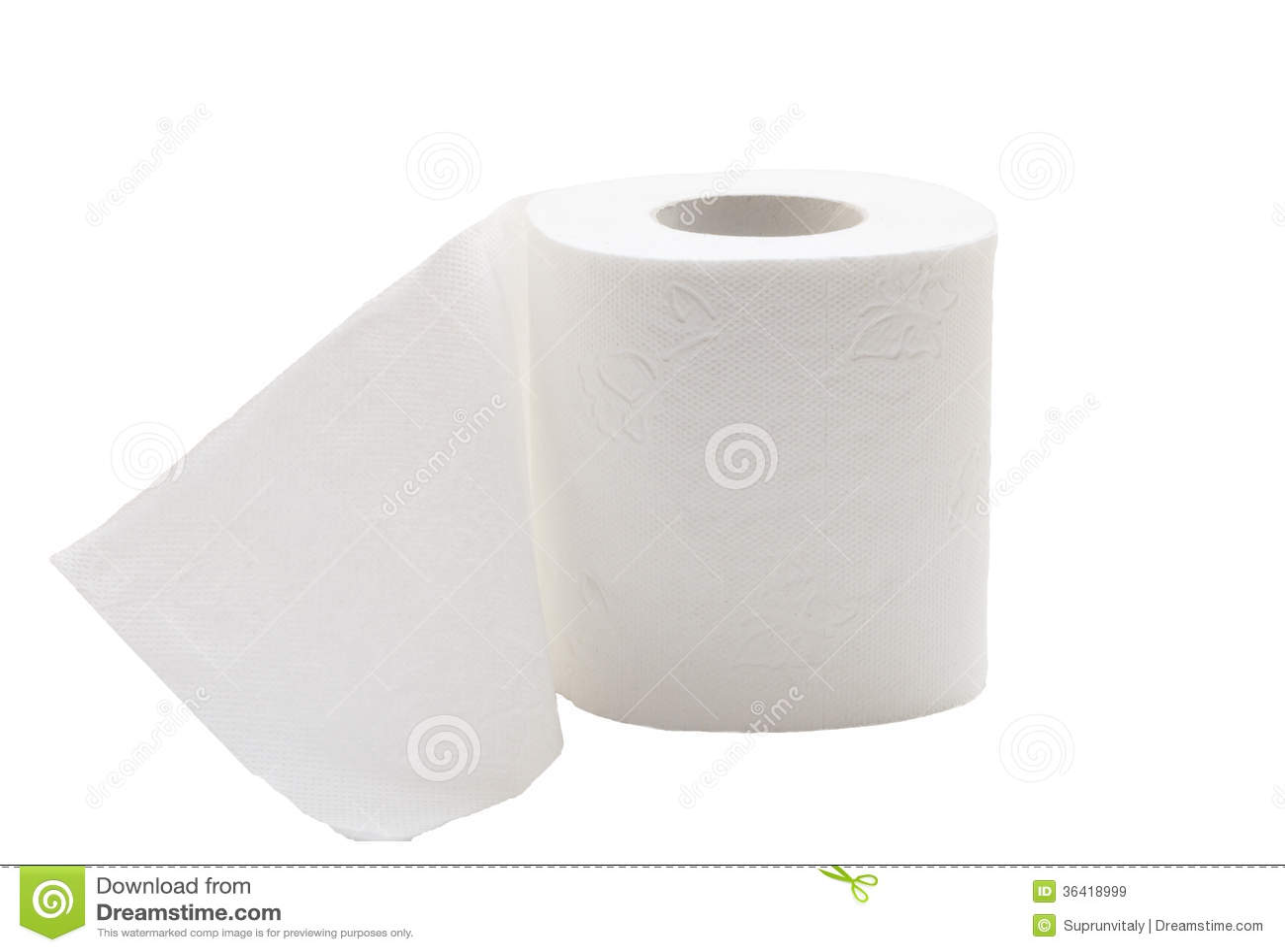 Toiletpapier.