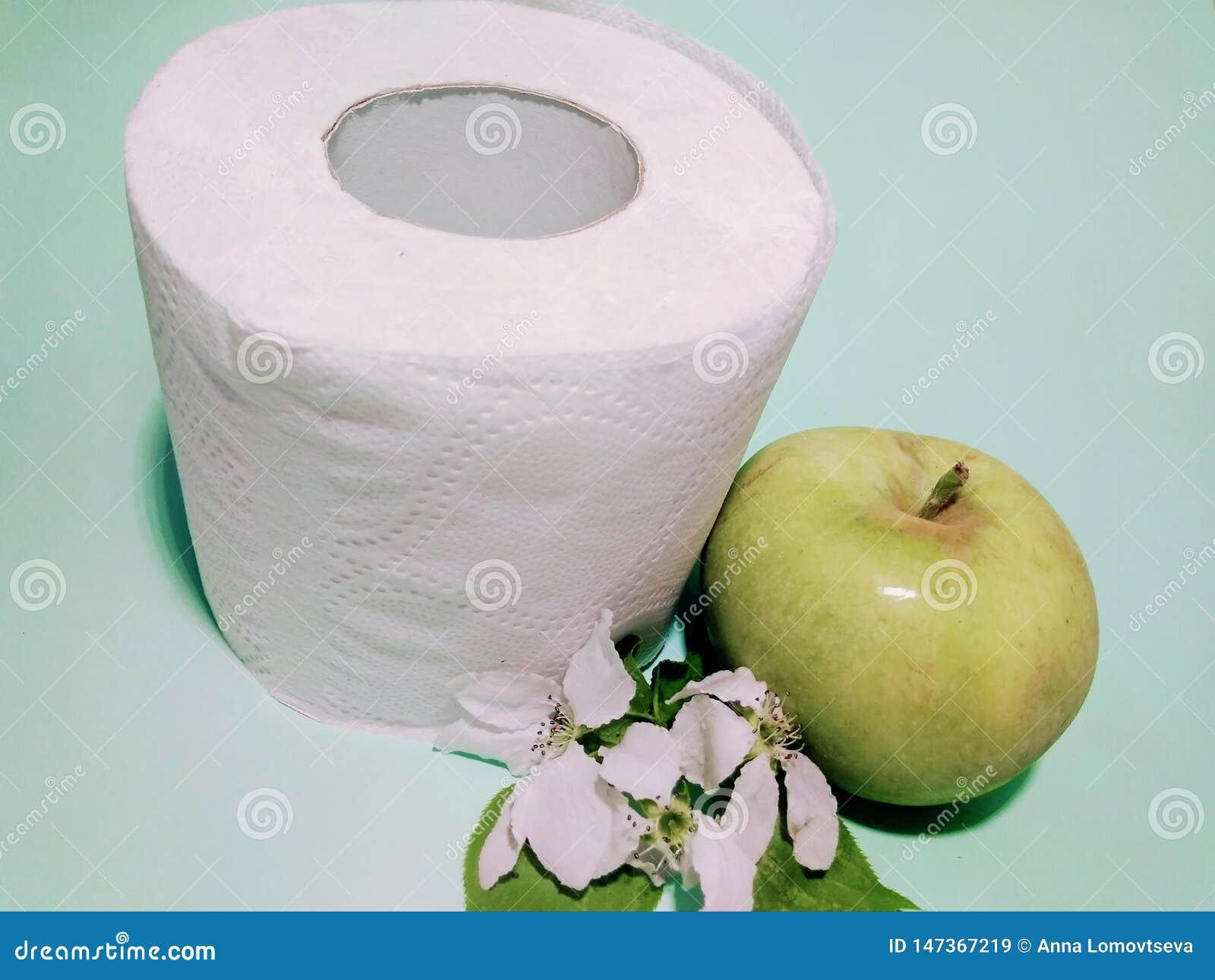 Toiletpapier met de geur van Apple
