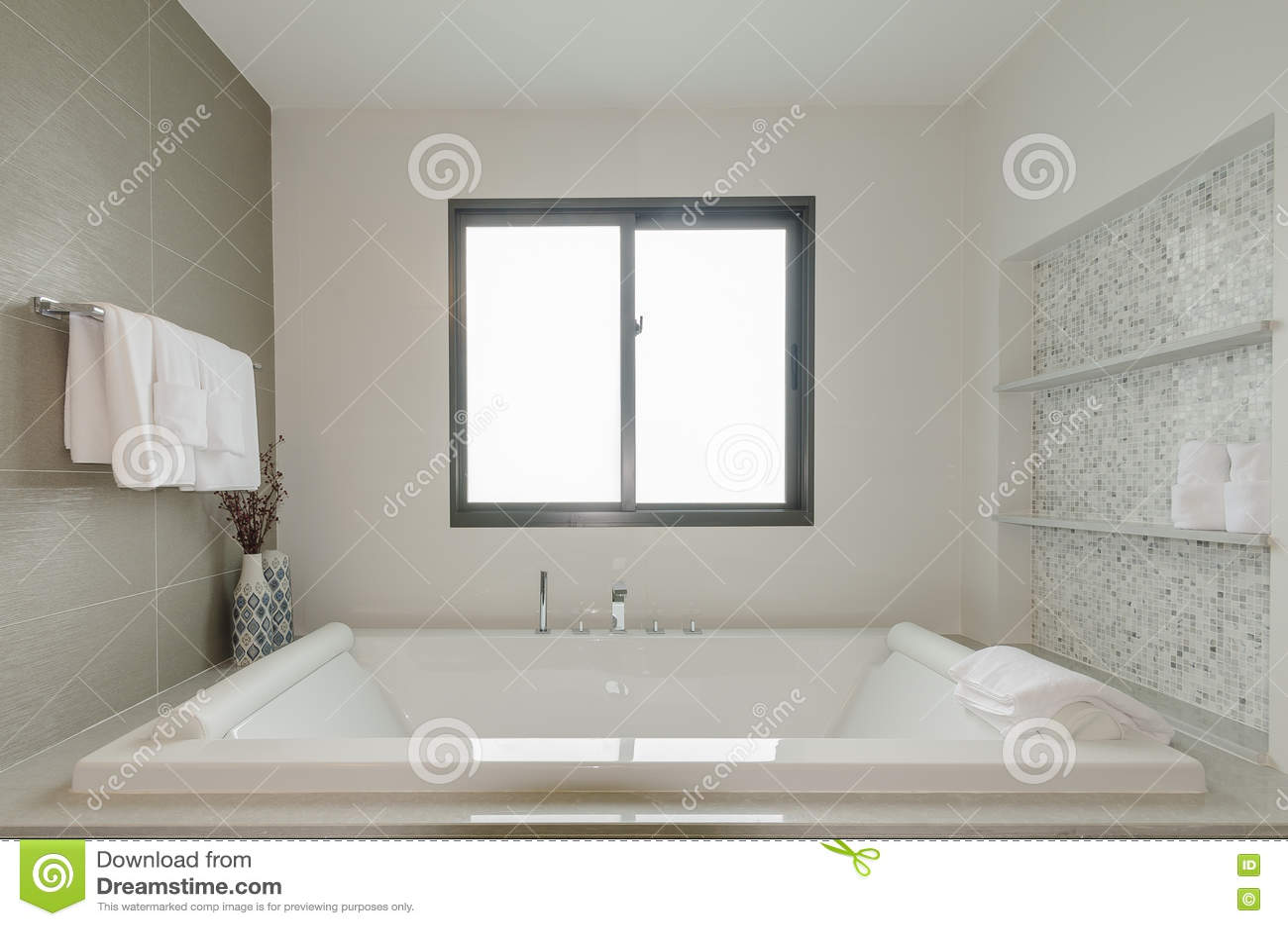 Toilette Da Bagno : Toilette bianca del bagno con la vasca da bagno immagine stock