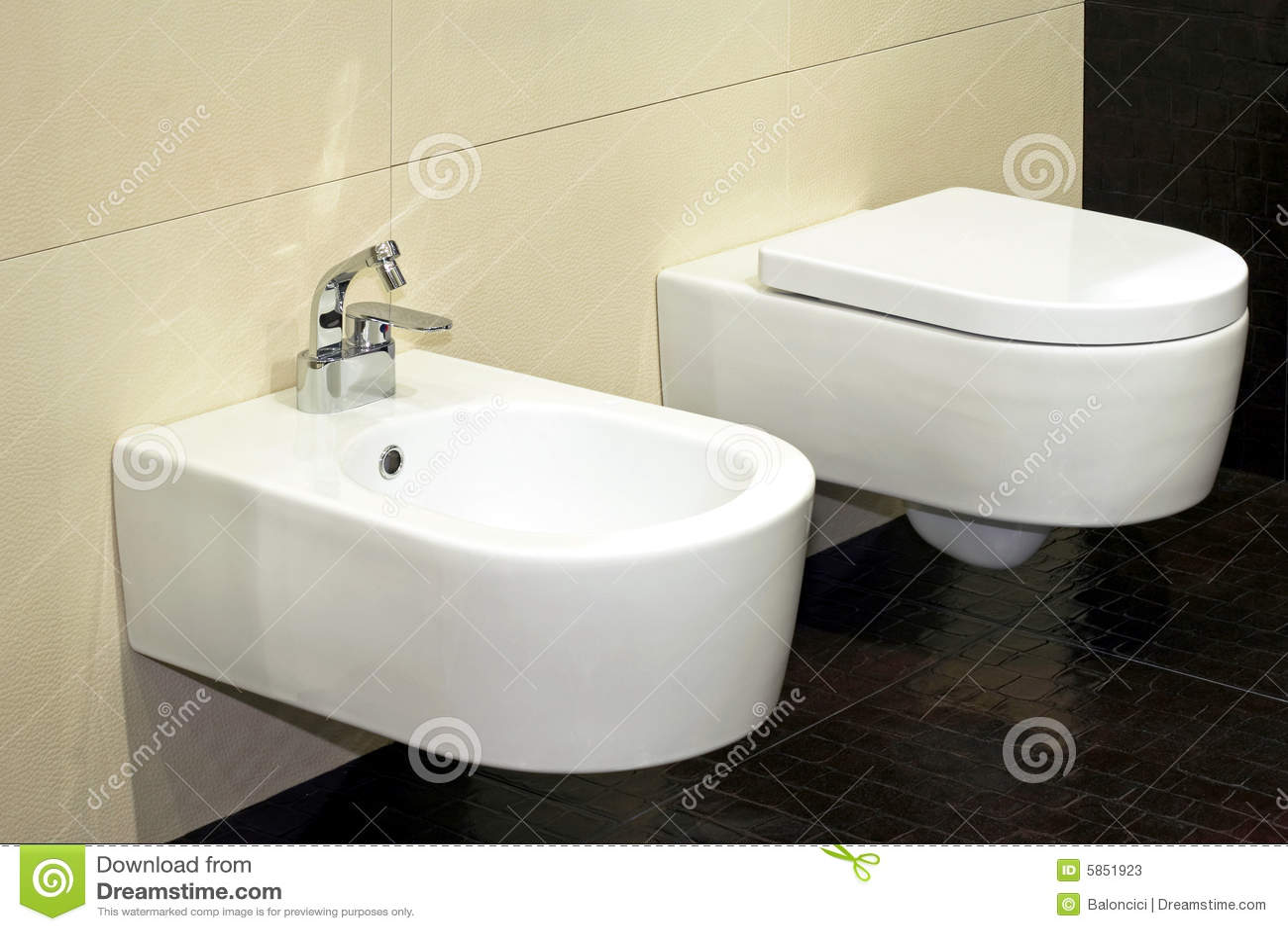 Toilette de bidet