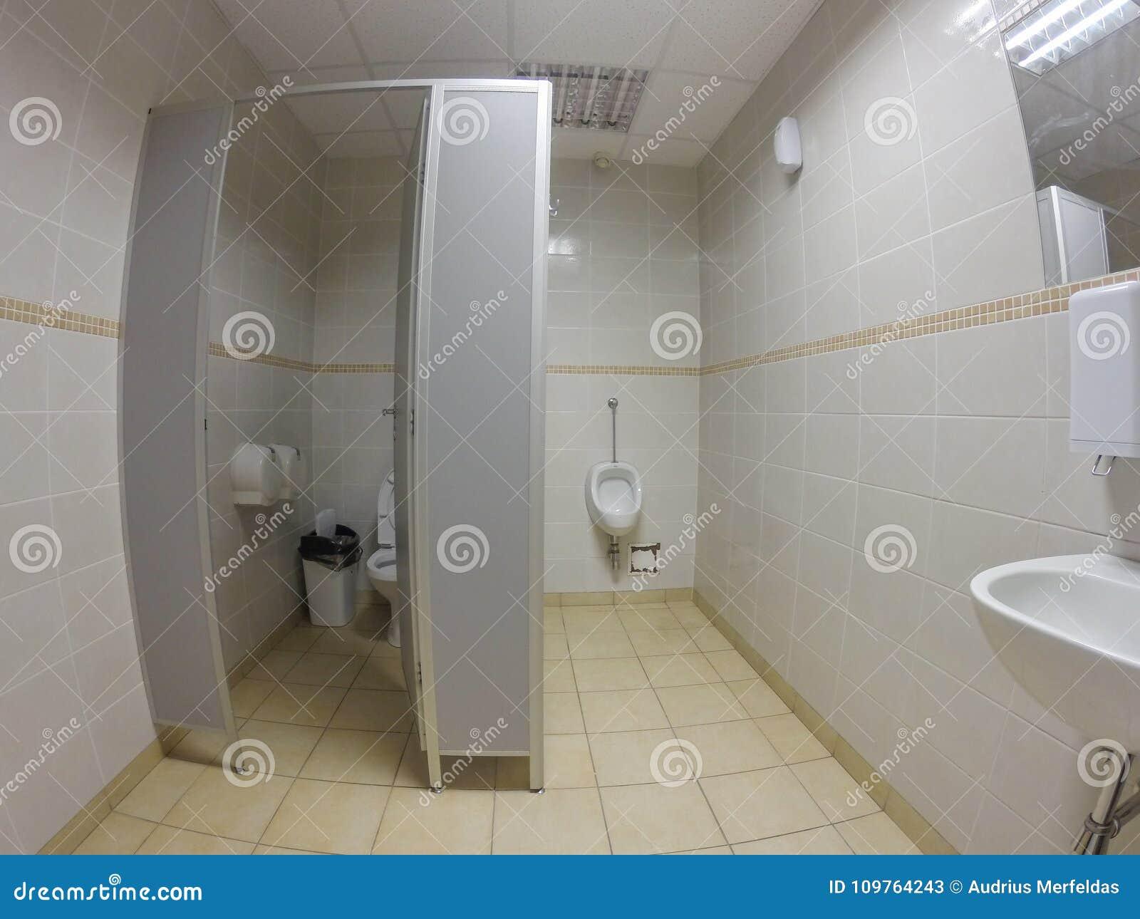 Toilettes Modernes De Bureau Image stock - Image du privé ...