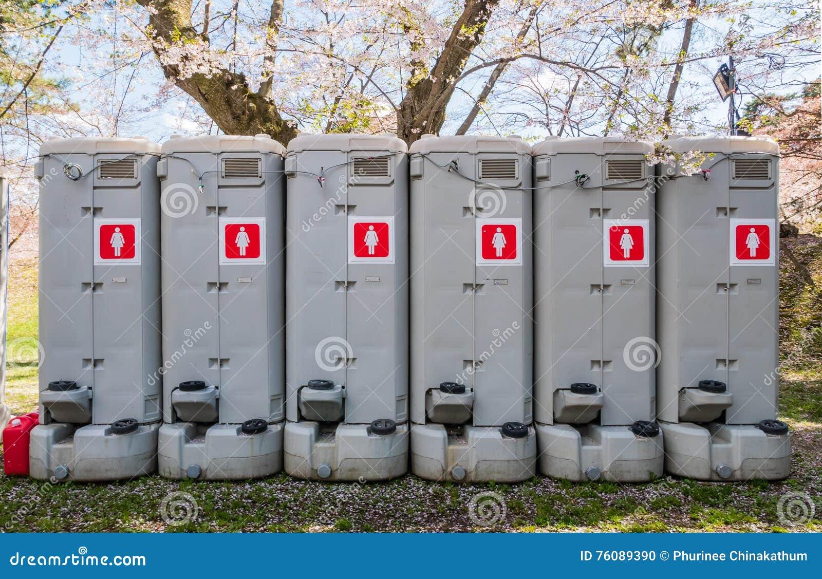 Toilettes portatives