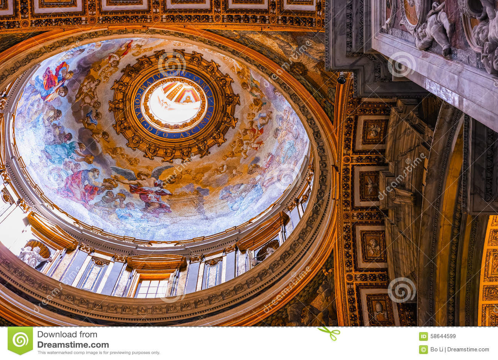 https://thumbs.dreamstime.com/z/toit-%C3%A0-l-int%C3%A9rieur-de-st-peters-church-58644599.jpg