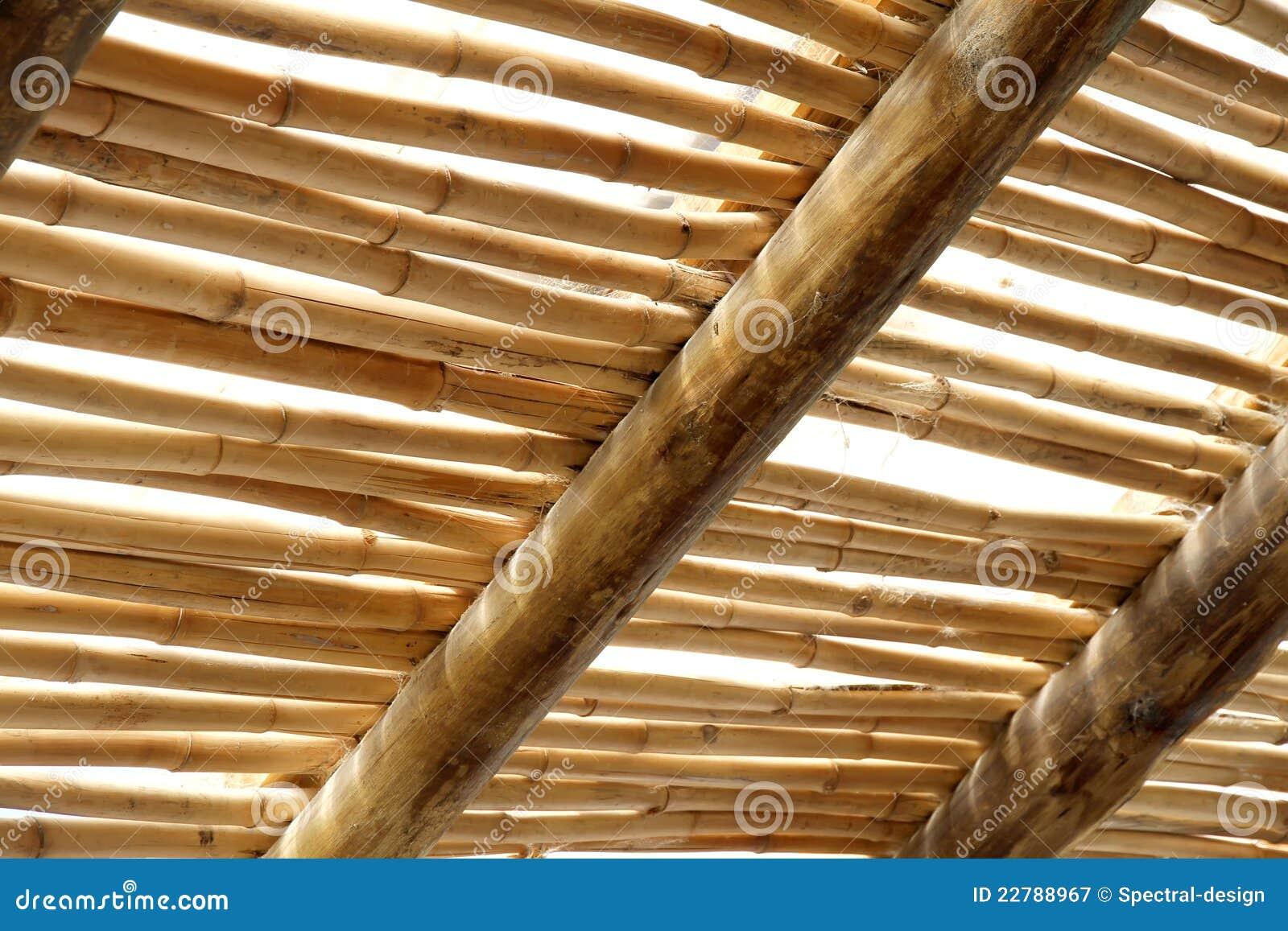 Abri En Bambou De Configuration Images stock - Image: 18014304