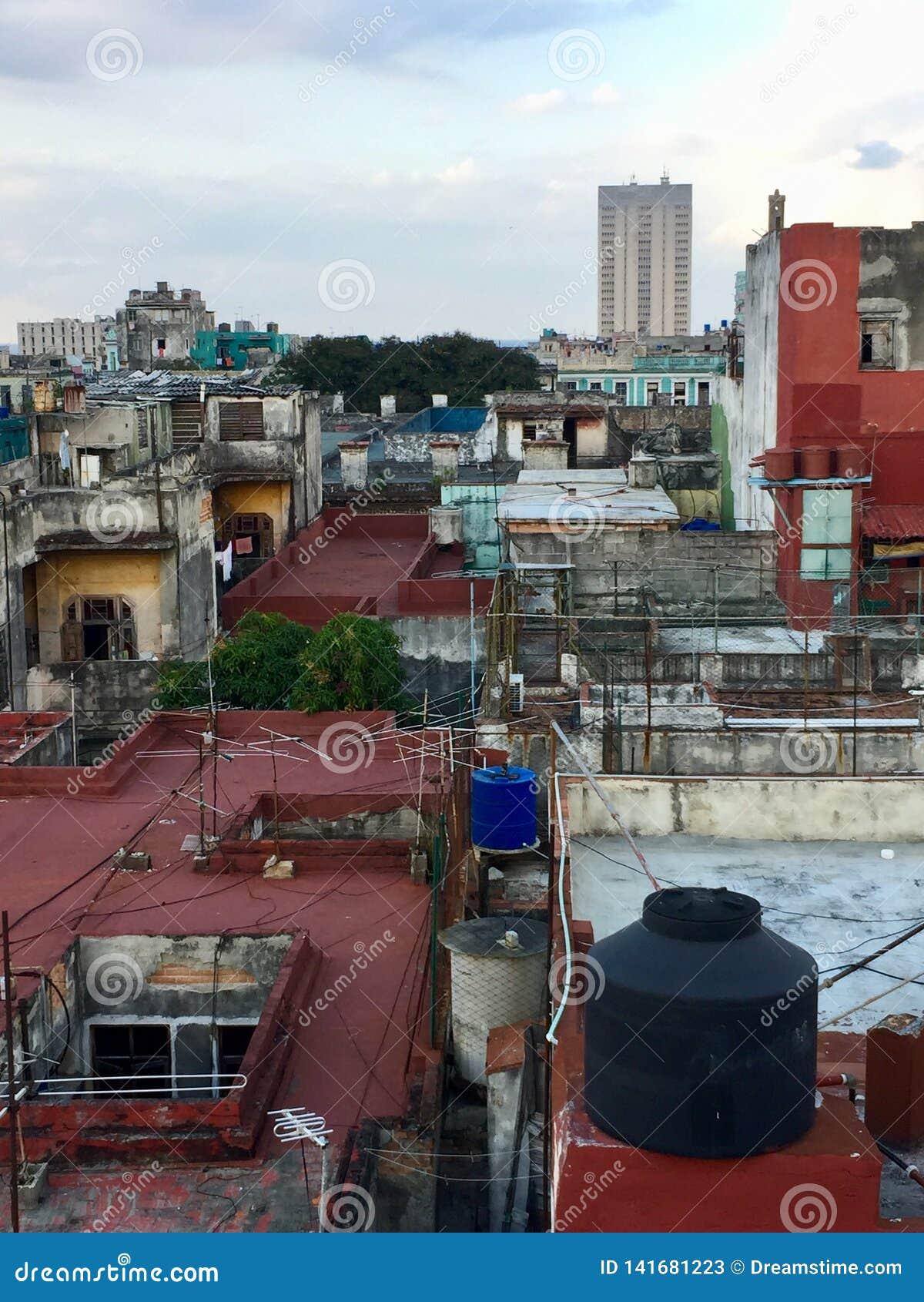 Toits de La Havane, Cuba